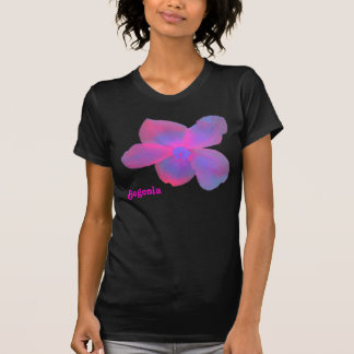 Fluorescent Begonia Customizable T Shirt