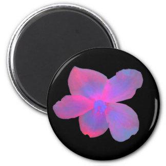 Fluorescent Begonia Magnet