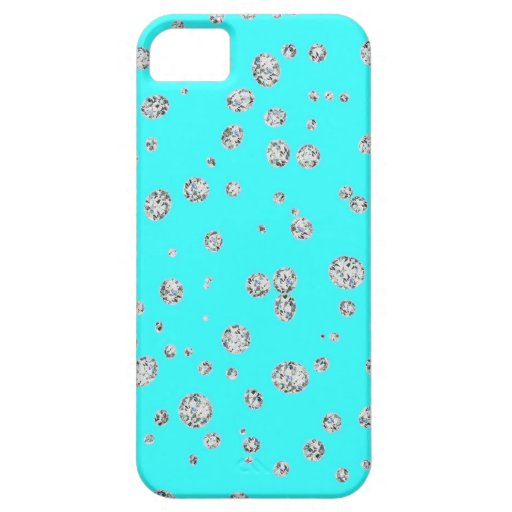 Fluorescent Blue Marine Case-Mate iPhone Case For The iPhone 5