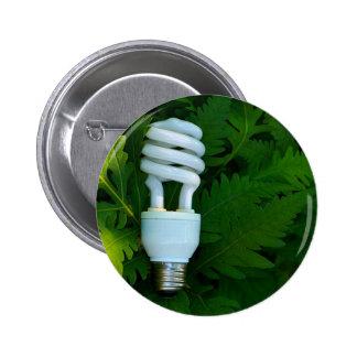 Fluorescent Bulb Buttons