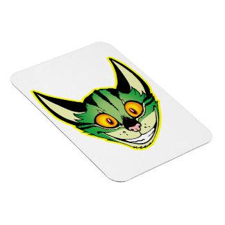 Fluorescent Cartoon Cat Flexible Magnet