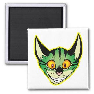 Fluorescent Cartoon Cat Magnet