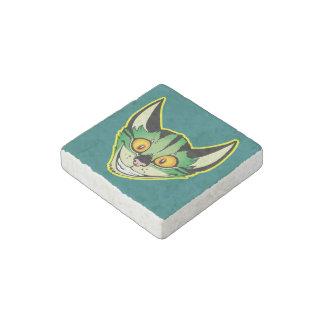 Fluorescent Cartoon Cat Stone Magnet