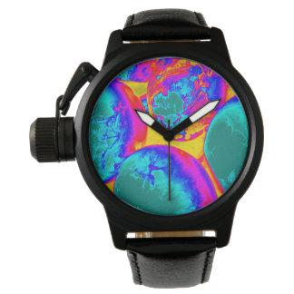 fluorescent eggs wrist watch