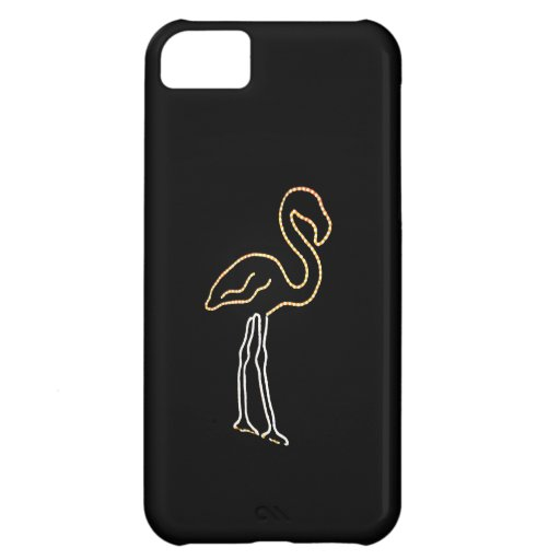 Fluorescent Flamingo Case iPhone 5C Cover