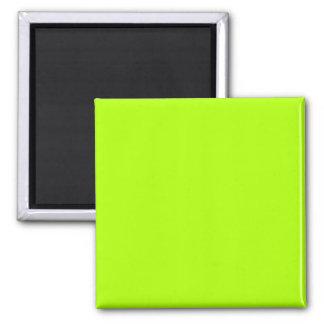 Fluorescent Green Refrigerator Magnets