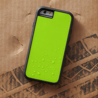 Fluorescent Green Solid Color Tough Xtreme iPhone 6 Case