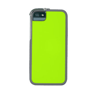 Fluorescent Green Solid Color Case For iPhone 5