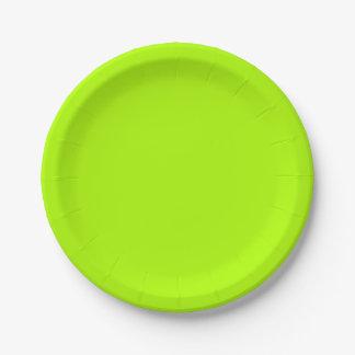 Fluorescent Green Solid Colour