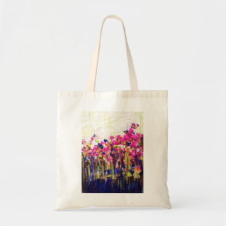 Fluorescent Haze Floral Bag