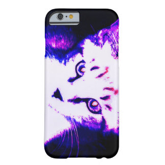 Fluorescent Kitty iPhone 6, Barely there case