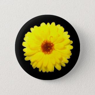 Fluorescent Marigold Button