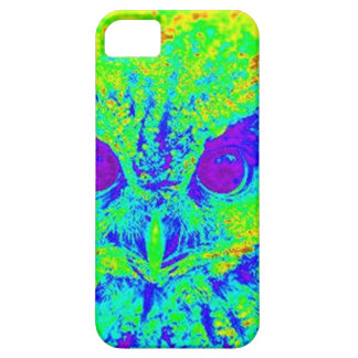 fluorescent owl iPhone 5 cover