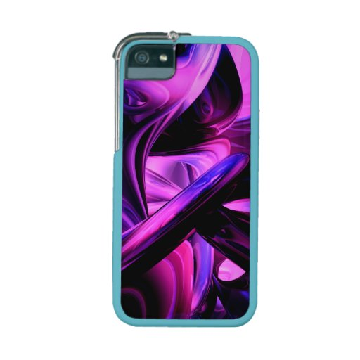 Fluorescent Passions Abstract Cover For iPhone 5