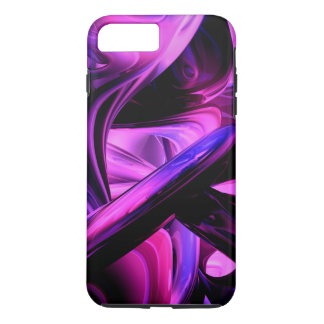 Fluorescent Passions Abstract iPhone 7 Plus Case
