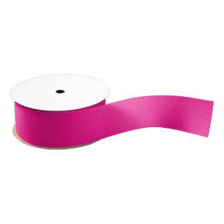Fluorescent Pink Grosgrain Ribbon