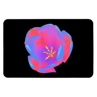 Fluorescent Tulip Premium Magnet