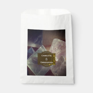 Fluorite Gemstone Personalized Wedding Favour Bag