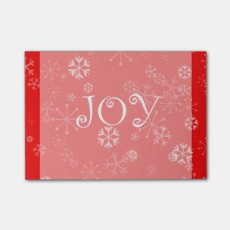 Flurries of Winter Joy Post-it Notes