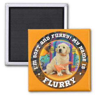 Flurry Name magnet