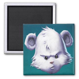 Flurry's Face Square Magnet
