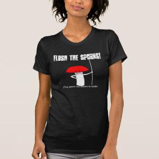 Flush the sporns! T-Shirt