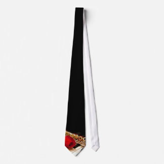 Flute and Piano Duet Tie