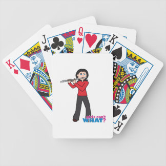 Flute-Gifts 1 Bicycle Playing Cards