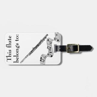 Flute Identification Tag
