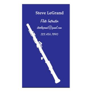 Flute Instructor Business Card