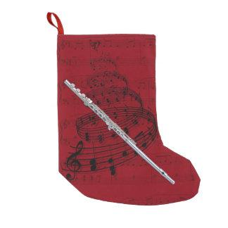 Flute music stocking