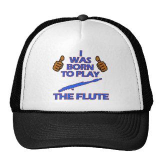 flute Musical designs Trucker Hat