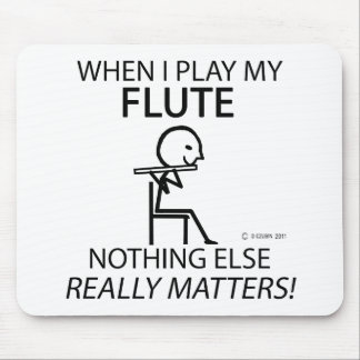 Flute Nothing Else Matters Mouse Pad