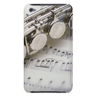 Flute on Sheet Music iPod Case-Mate Case