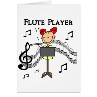Flute Player Card