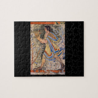Flute Player', Etruscan_Art of Antiquity Jigsaw Puzzle