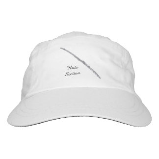 Flute Section Customizable Text Headsweats Hat