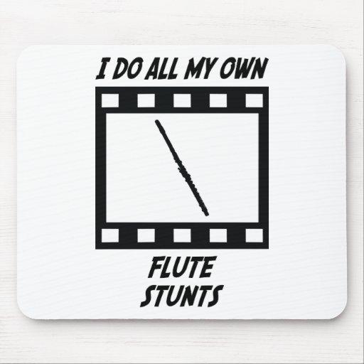 Flute Stunts Mouse Pads