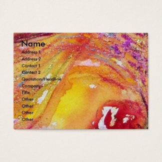 FLUTIST PORTRAIT / Venetian Masquerade Business Card