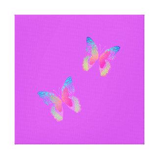 Flutter-Byes canvas print