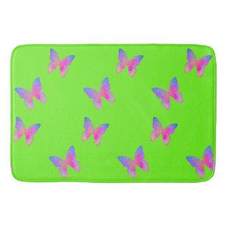 Flutter-Byes (green) bath mat