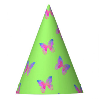 Flutter-Byes party hat