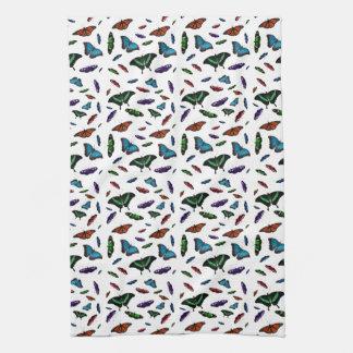 Flutterbies Kitchen Towel (Choose Colour)