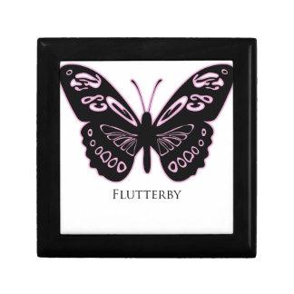 Flutterby Black Pink Glow Gift Box
