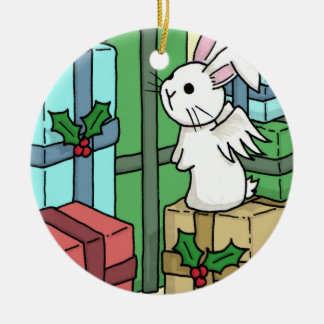 Flutterby bunny and the gifts - Decoration