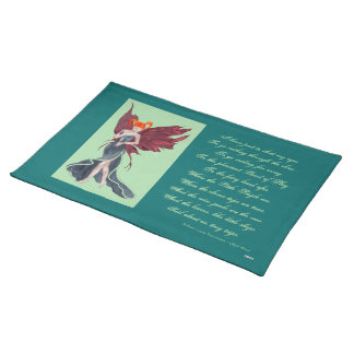 Flutterby Fae Fall-twin (1) Placemats