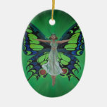 Flutterby Fairy Christmas Tree Ornament