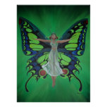 Flutterby Fairy Posters