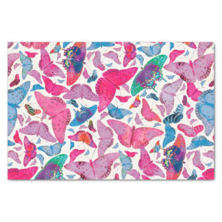 Flutterby Spring Butterflies Tissue Paper