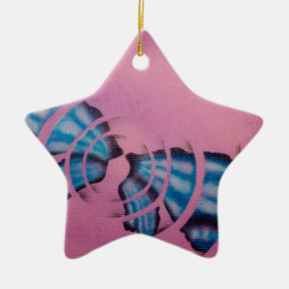 Flutterbye Ceramic Star Ornament